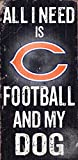 Fan Creations Chicago Bears Football and My Dog Sign, Multicolored