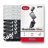 Sugru Moldable Glue - Original Formula - Black & White 8-Counts -...