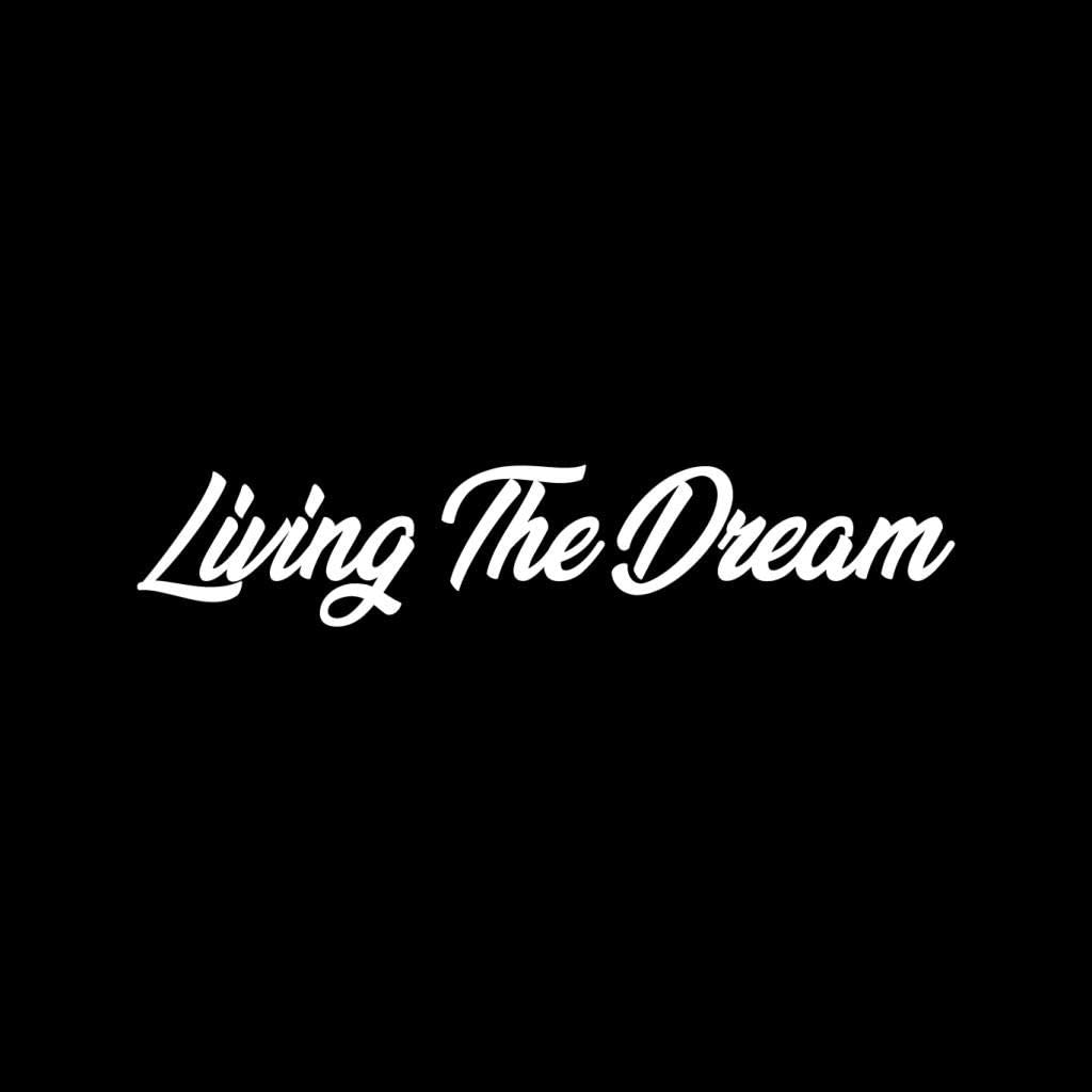 Living The Dream Flock Mens Sweatshirt