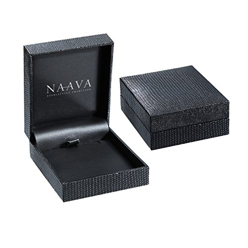Naava Femme 18 carats (750/1000) Or blanc Rond Blanc Diamant