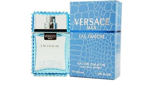 Versace Eau de Fraiche Set de Agua de Colonia + Agua de Colonia - 60 ml: Amazon.es: Belleza