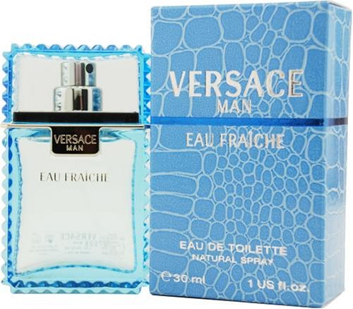 Versace Man Eau Fraiche by Gianni Versace For Men. Eau De Toilette Spray 1 Ounce