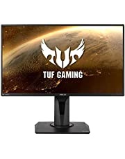 TUF Gaming VG259QM Gaming Monitor – 24.5 inch Full HD (1920x1080), Fast IPS, Overclockable 280Hz (Above 240Hz, 144Hz), 1ms (GTG), Extreme Low Motion Blur Sync, G-SYNC Compatible, DisplayHDR™ 400