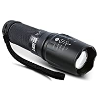 HIILIGHT LED Taschenlampe 2500 Extrem Hell - CREE XM-L T6