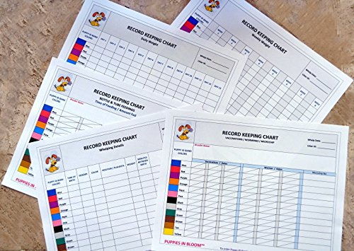 Record Keeping Charts for Breeders product image