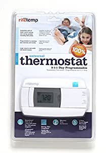 Rite Temp 5-1-1 Universal Programmable Thermostat Energy, Star Compilant