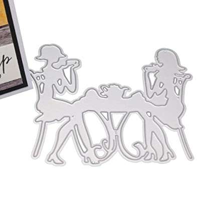 Afternoon Tea Cutting Dies Metal Stencil for Scrapbooking Card Embossing Craft