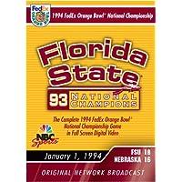 1994 Fed Ex Orange Bowl - Estado de Florida vs. Nebraska