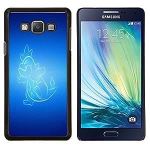 """Be-Star Único Patrón Plástico Duro Fundas Cover Cubre Hard Case Cover Para Samsung Galaxy A7 / SM-A700 ( Resplandeciente Dragón"""" )"""
