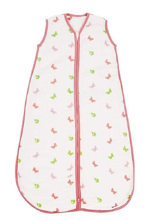 Slumbersac – Saquito de dormir en muselina, de verano, para recién nacido. 0