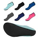 10-equick-water-socks-updated-version-durable-sole-barefoot-aqua-sport-shoes-for-beach-swim-surf-yog