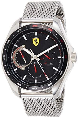 Scuderia Ferrari Speedracer Analog Black Dial Men #39;s Watch 0830684