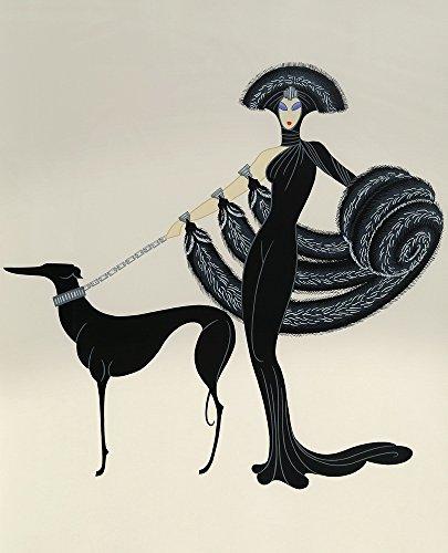 Berkin Arts Erte Giclee Canvas Print Paintings Poster Reproduction(Untitled1)