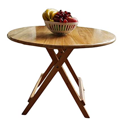 Astounding Amazon Com Folding Table Zhaoshunli Solid Wood Simple Interior Design Ideas Gentotthenellocom