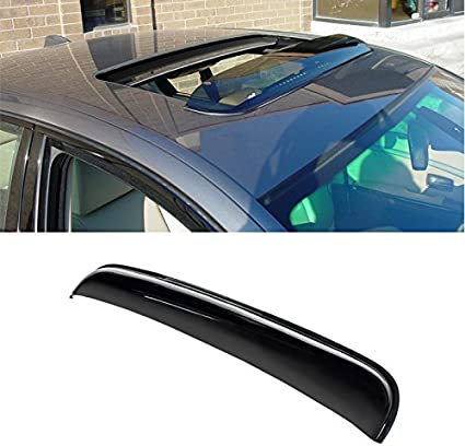 Universal Dark Smoke Sun//Moon Roof Rain Snow Guard Window Visor Deflector 32.8 Between The Inner Edge VIOJI 34