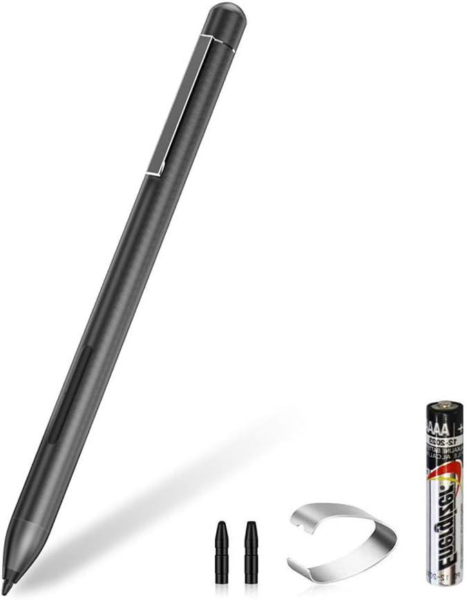teshe Stylus Active Pen for HP Pavilion x360 11m-ad0 14M-ba0 14-cd0 15-br0; HP Envy x360 15-bp0 15-bq0, x360 15-cn0, X2 12-e0xx,X2 12g0xx ; HP Spectre x360 13-ac0xx 15-blxxx