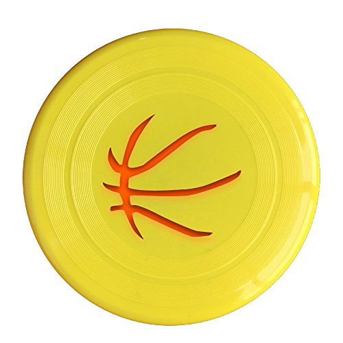 AOLM Basketball Player #23 James LBJ Outdoor Game Frisbee Sport Disc Yellow