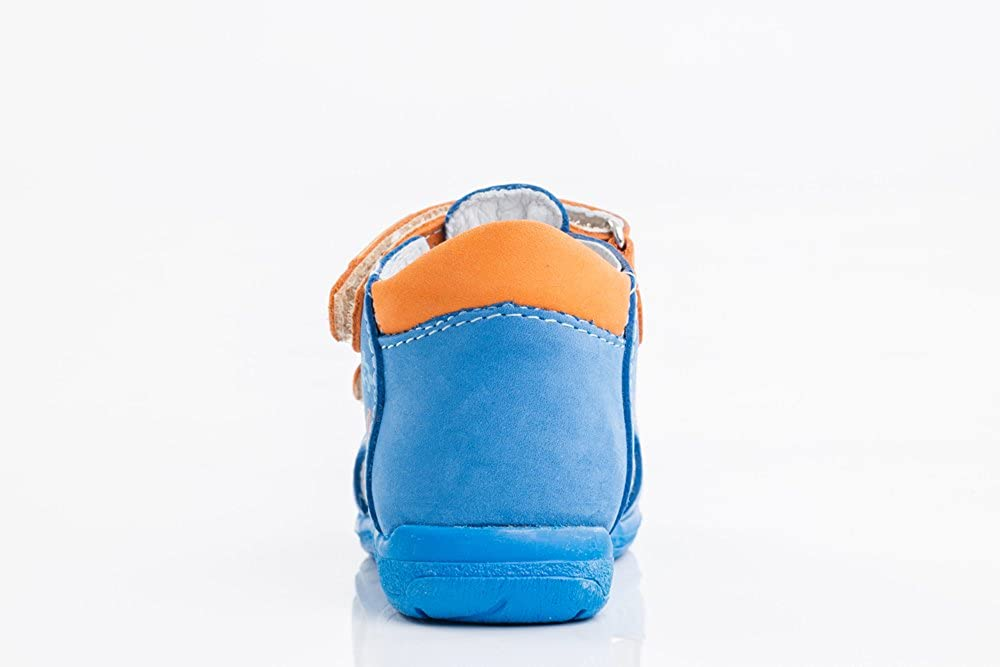 Kotofey Toddler Boy Sandals 022084-21 Genuine Leather Orthopedic Shoes with Arch Support