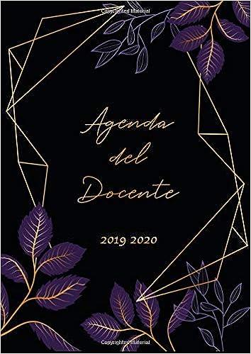 Agenda del Docente 2019 2020: Agenda settimanale 2019 - 2020 ...