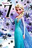 Disney Frozen Elsa 7th Birthday Card 418969