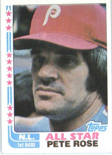 Pete Rose AS Philadelphia Phillies (Baseball Card) 1982 Topps #337