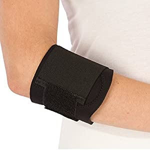 support for sports Neoprene Tennis Elbow Brace Adjustable with Pressure Pad