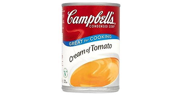 Crema de Campbell de tomate condensada sopa 295g: Amazon.es: Alimentación y bebidas