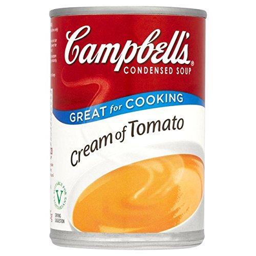 Crema de Campbell de tomate condensada sopa 295g
