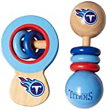 MasterPieces NFL Unisex NFL Wood Baby Rattles
