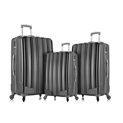 rockland-barcelona-3-polycarbonate-abs-6-pc-travel-set-and-luggage-cover-black