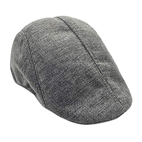 Summer Men Women Casual Beret Hat Ivy Flat Cap Newsboy Style Gatsby Hat Adjustable Breathable Boina Mesh Caps