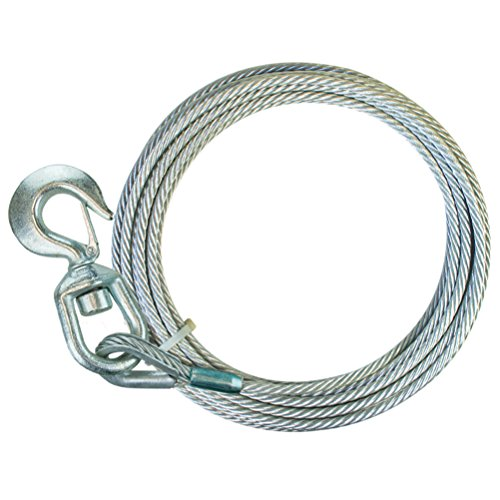 50' Galvanized Winch Cable - 4