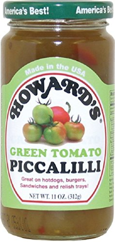 Howard Foods Inc Piccalilli, Green Tomato, 11-Ounce (Pack of 6)