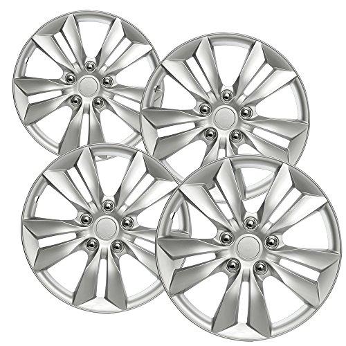 hub-caps-for-select-hyundai-sonata-pack-of-4-16-inch-silver-wheel-covers