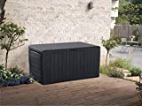 KETER Marvel Plus 71 Gallon Resin Outdoor Box for