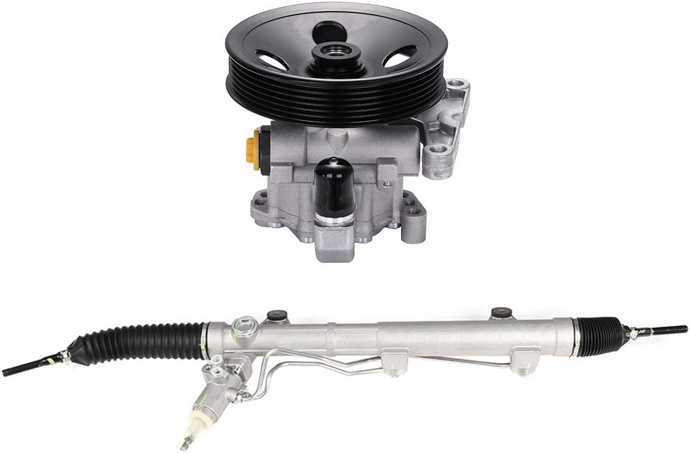 LSAILON Pump 096-120,26-4008 Power Rack and Pinion Steering Assemblies Fit 2007-2009 for Mercedes-Benz GL450 4.6L