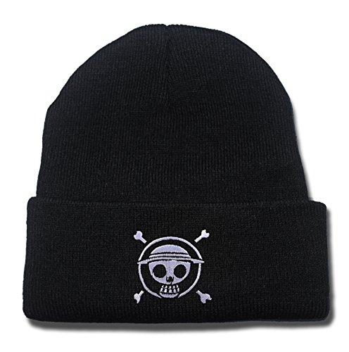 one-piece-luffy-logo-beanie-fashion-unisex-embroidery-beanies-skullies-knitted-hats-skull-caps