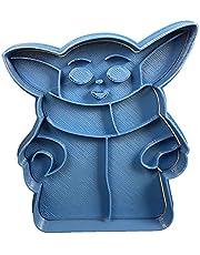 Cuticuter Baby Yoda Entero koekjesuitsteker, PLA
