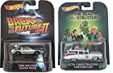Hot Wheels Retro Entertainment Back to the Future Time Machine Hover Mode & The