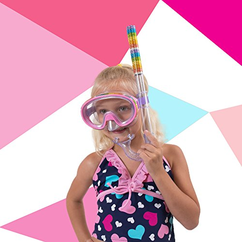 "cba6c45e635 Bling2o Kids Swim Goggles Mask - ""Minnow Mask"" Kids Swimming Mask with Anti  Fog"