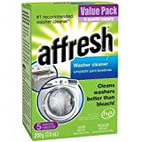 Affresh Washer Cleaner | Works Better than Bleach | Including HE Machines (10 Count - 7 Oz)