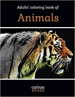 Grayscale Animal Coloring Book: A Grayscale Coloring Book for Adults of Beautiful Animals