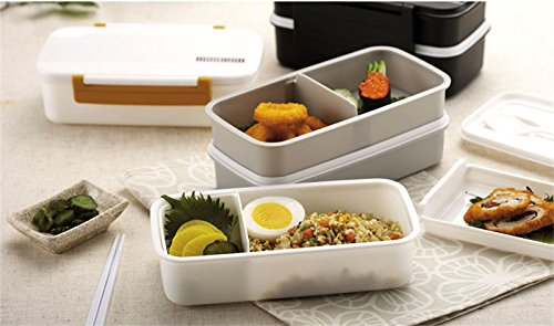 bento lunch box double plastic bento lunch boxes tableware double plastic bento lunch boxes can. Black Bedroom Furniture Sets. Home Design Ideas