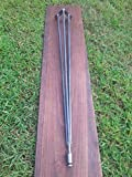 Adjustable Leveling Raw 3 Rod Hairpin Leg - Beeswax coating optional