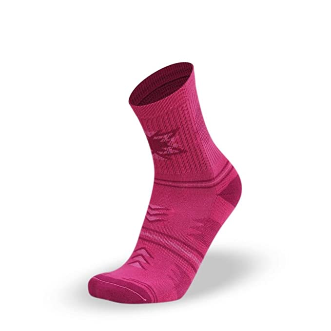 Lithe Yucatan Women´s Classic Mid Calcetines Rosas Pink Socks