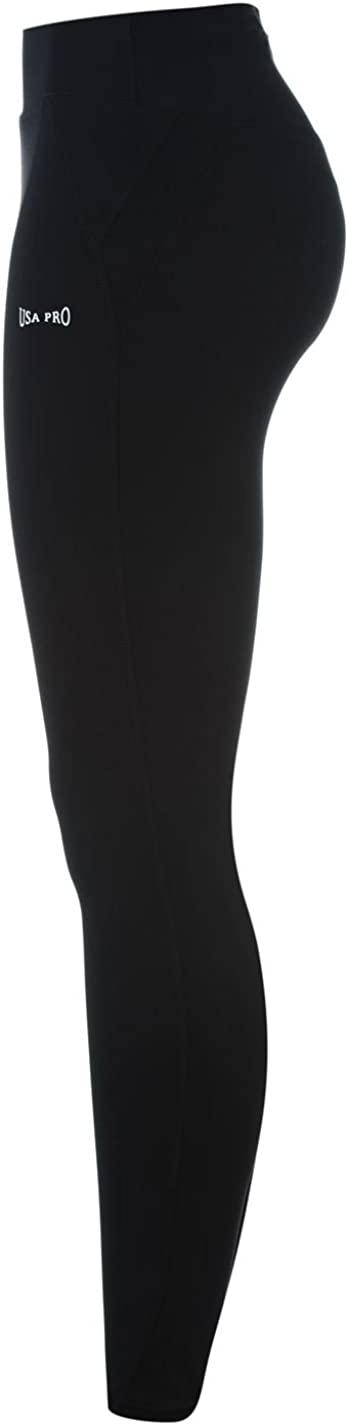USA Pro Womens Leggings Performance Tights Pants Trousers