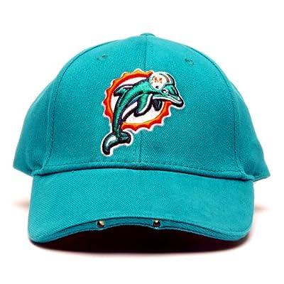 NFL Miami Dolphins Dual LED Headlight Adjustable Hat