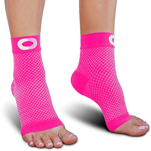 Plantar Fasciitis Socks with Arch Support - BEST Compression Foot Sleeves for Men & Women, Plantar Fasciitis Pain Relief, Better than Night Splint, Ankle Brace Support, Heel Spurs, Eases Swelling