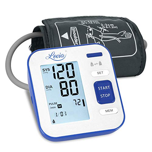 Blood Pressure Monitor Upper Arm, LOVIA Accurate