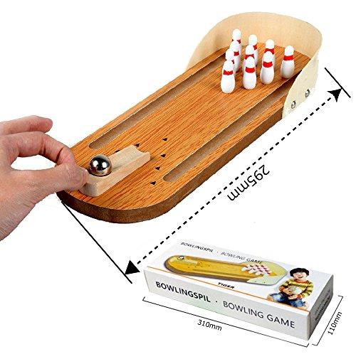 ボウリング ボーリング 卓上ゲーム 木製 デスクトップ・ボーリング 卓上ボーリング